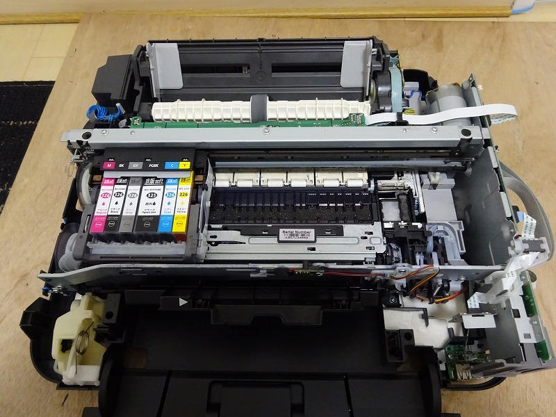 MG6130/MG6230/MG8130/MG8230 アブソーバー交換作業賜ります。_内部 after
