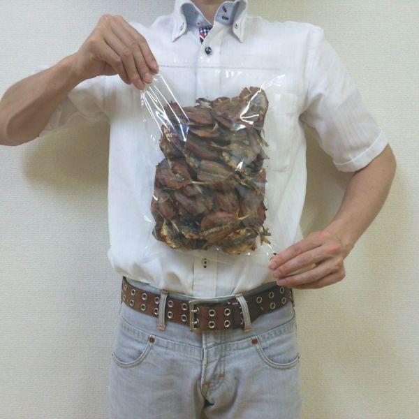 焼あじ 500g チャック袋 500gX1袋 九州工場製造品 黒田屋 焼きあじ_画像4