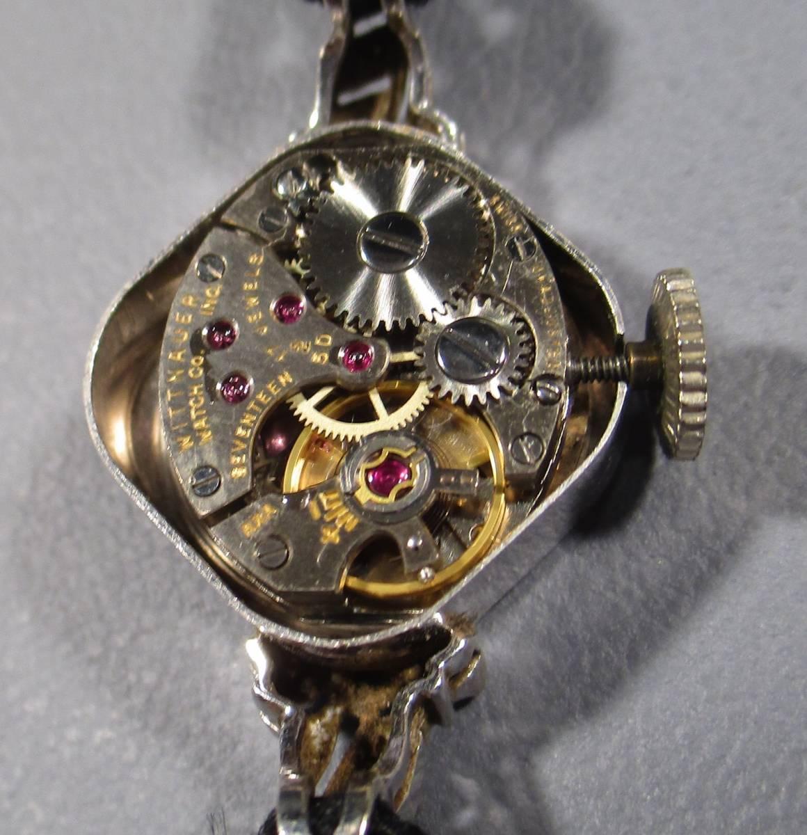 ☆ ビンテージ 14KYG ウイットナー 婦人用腕時計_画像6