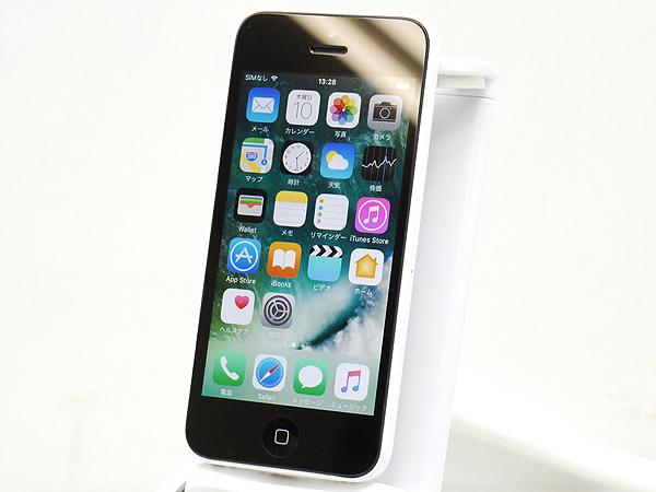 iPhone5c 16GB ホワイト(docomo) ME541J/A◆ネットワーク利用制限○◆アクティベート可◆本体のみ 管197