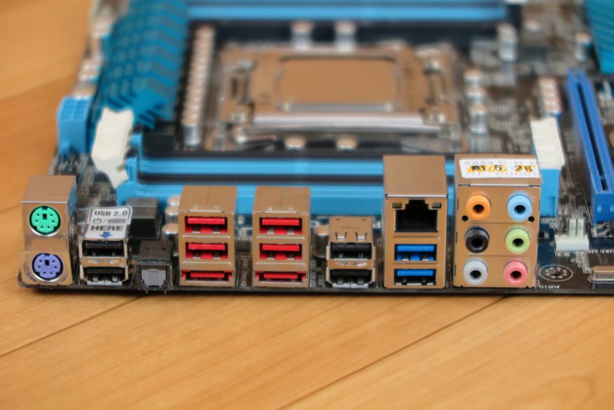 ASUS★マザーボード CPU付き★P9X79LE Core i7-4820K 3.70GHz_画像3