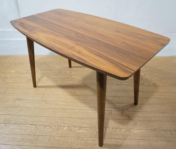 送料無料 ウォールナット材 ソファ サイドテーブル コーヒーテーブル センターテーブル 飾り棚/ 北欧 アクタス IDEE カリモク60 無印 unico