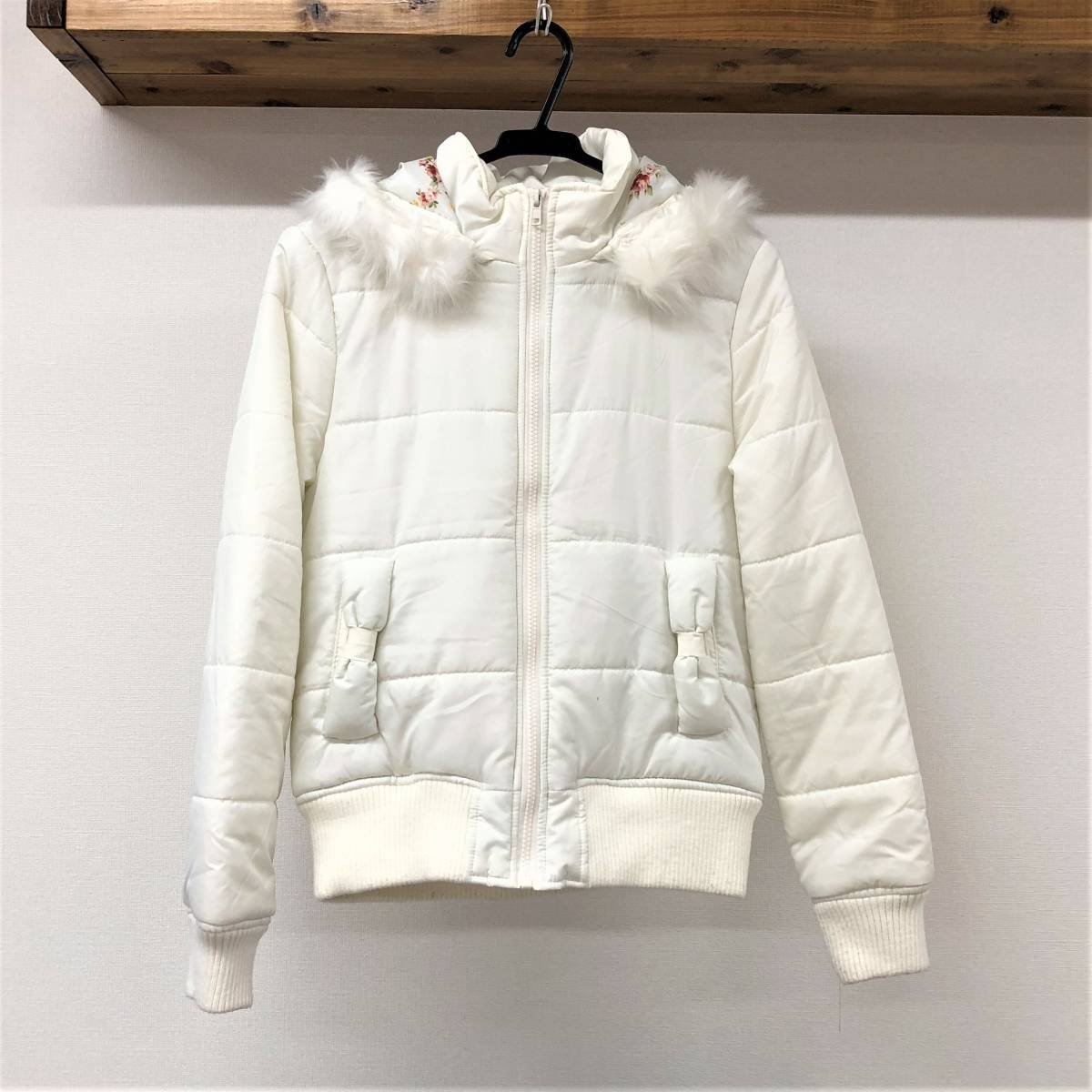 7faa4bcbf LIZ LISA ( Liz Lisa ) with a hood . jacket [ old clothes * used ...
