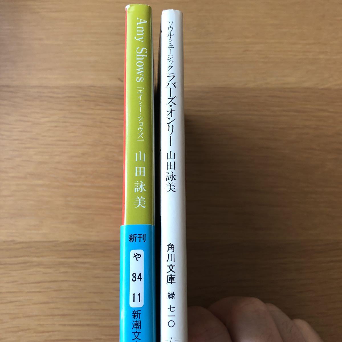 山田詠美 新潮文庫 エイミー・ショウズ/角川文庫 ラバーズ・オンリー 2冊_画像3