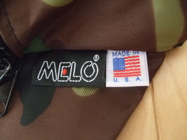 MELO メロ ミディアムウエストバッグ MADE IN USA 迷彩柄_画像3