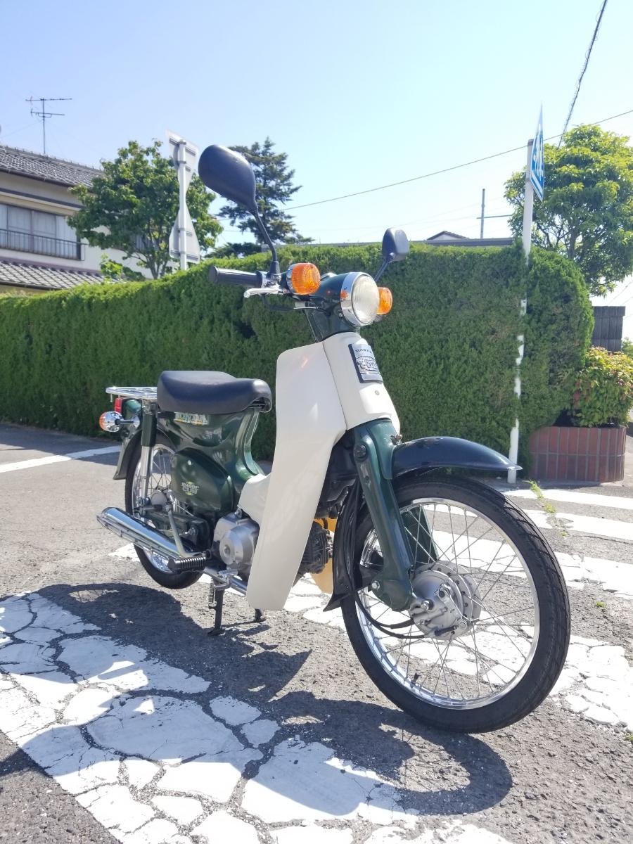 愛知県より スーパーカブ50STD キャブ車 AA01型 実動車両