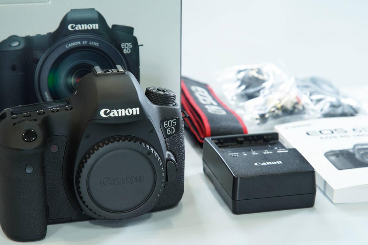 【最落無し】【中古美品】 ☆ キャノン / Canon EOS 6D ボディのみ ☆ 撮影枚数9742枚 ☆