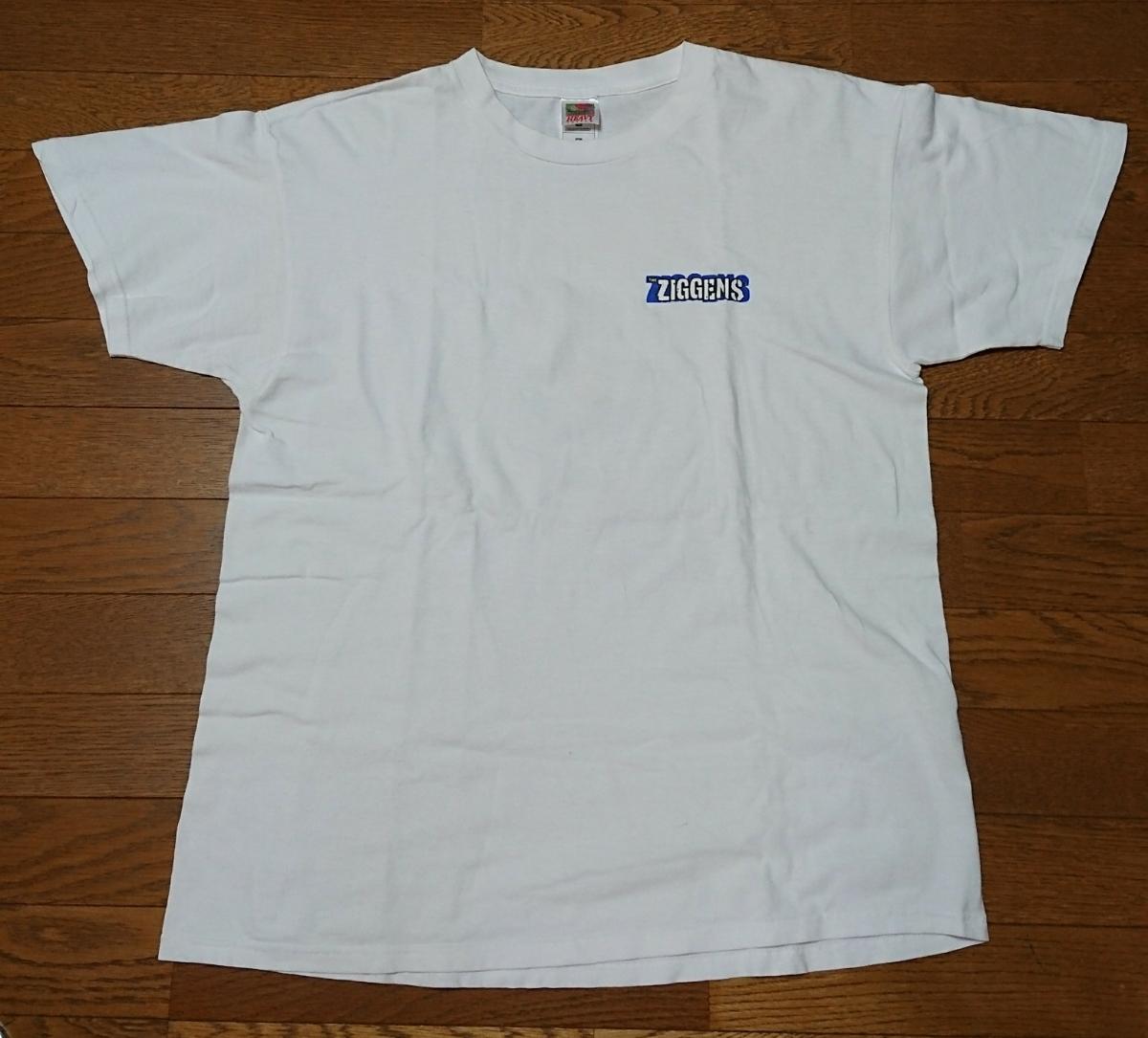 the ziggens Tシャツ XL USED ジギンズ / SUBLIME SKUNK slightly stoopid LONG BEACH DUB ALLSTARS jack johnson red hot chili peppers_画像1