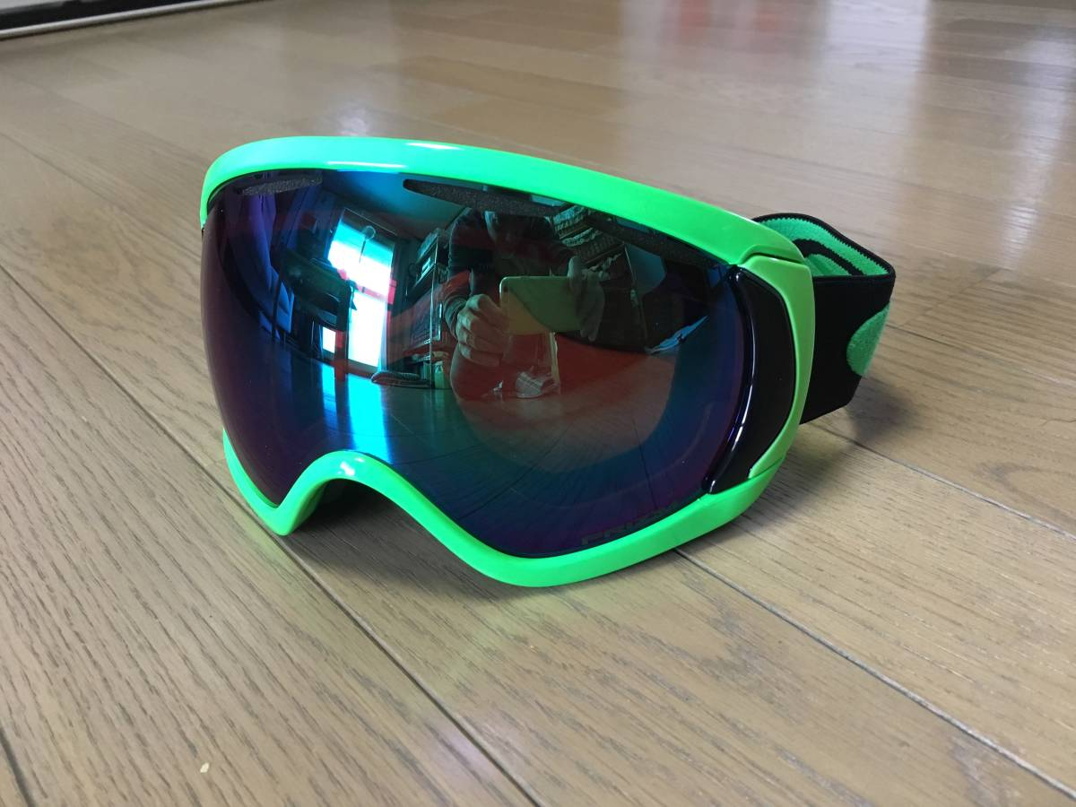 【OAKLEY】スノーゴーグル Canopy [Prizm/Green] [Asia Fit]