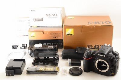 Nikon ニコン D810 マルチパワーバッテリーパックMB-D12 元箱付 (4635)