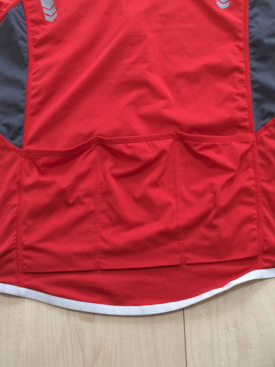 bacdfd53e12 Colombia Columbia cycle jersey cycle wear L bicycle road bike men s red RED  cycling shirt half