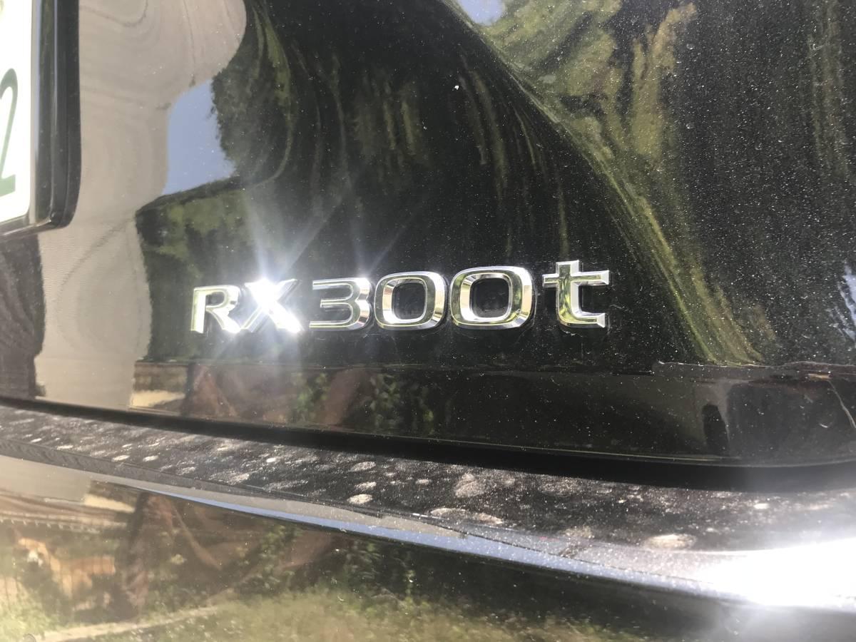 送料込現行レクサスRX300エンブレム