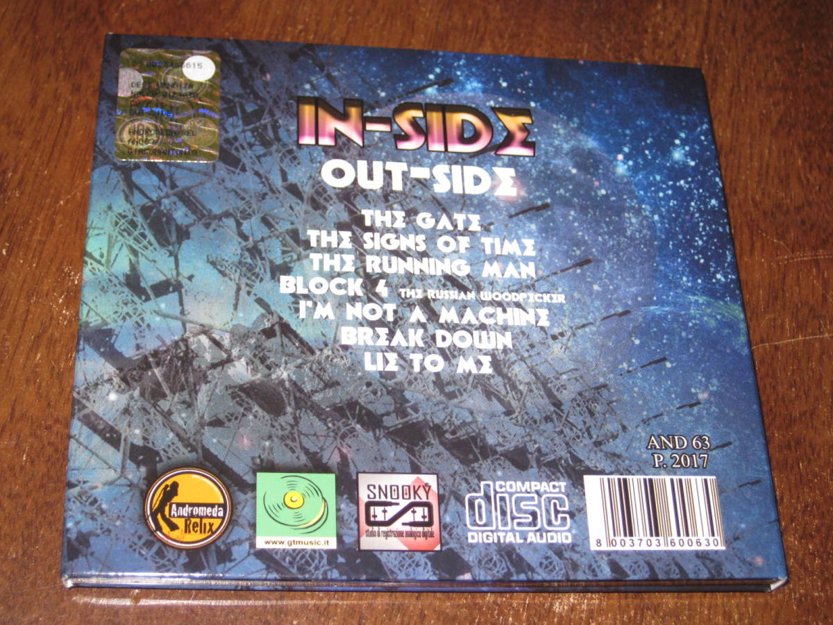 IN-SIDE イン・サイド/ OUT-SIDE アウト・サイド 輸入盤 ほぼ新品