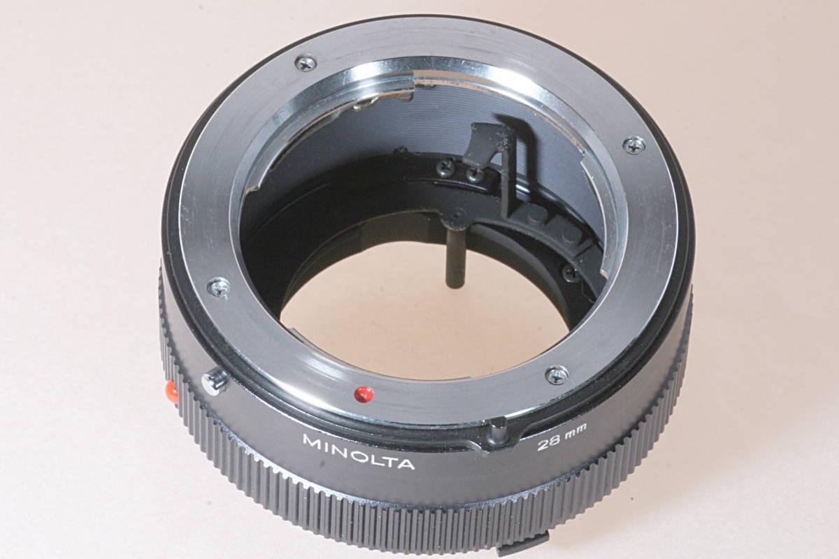 ミノルタ MINOLTA 28mm 接写リング 中間リング for MD SR USED 綺麗_画像3