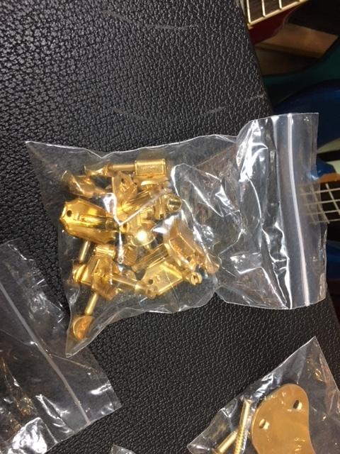 Mosrite Gold Parts 、Pick Up モズライト用 パーツ モズライト ピックアップ 一式 全て揃っています。_画像5