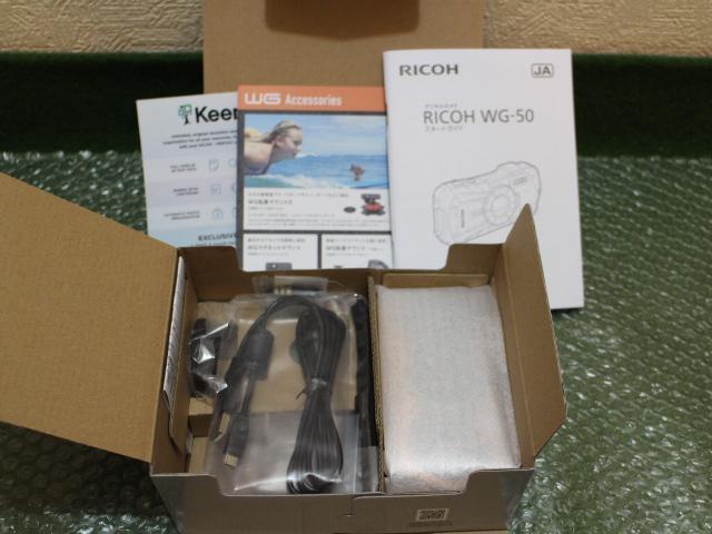【新品】RICOH WG-50 オレンジ デジカメ 防水_画像4