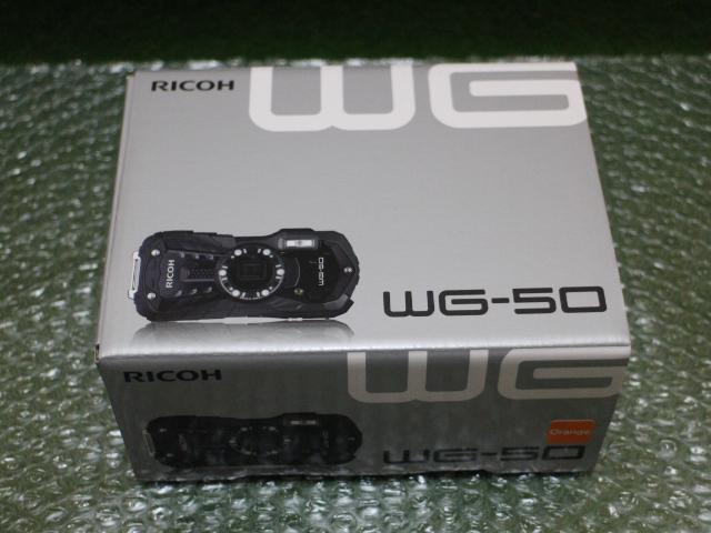 【新品】RICOH WG-50 オレンジ デジカメ 防水
