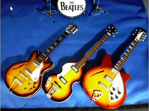 THE Beatles (ビートルズ) ミニチュアバンドセット B_画像4