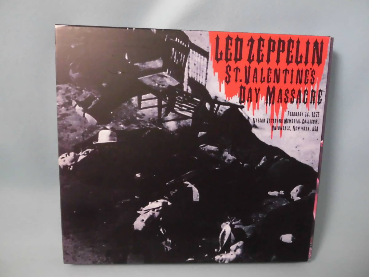 ★LED ZEPPELIN/ST.VALENTAINES DAY MASSACRE EPRESS VALLEY 3CD_画像1