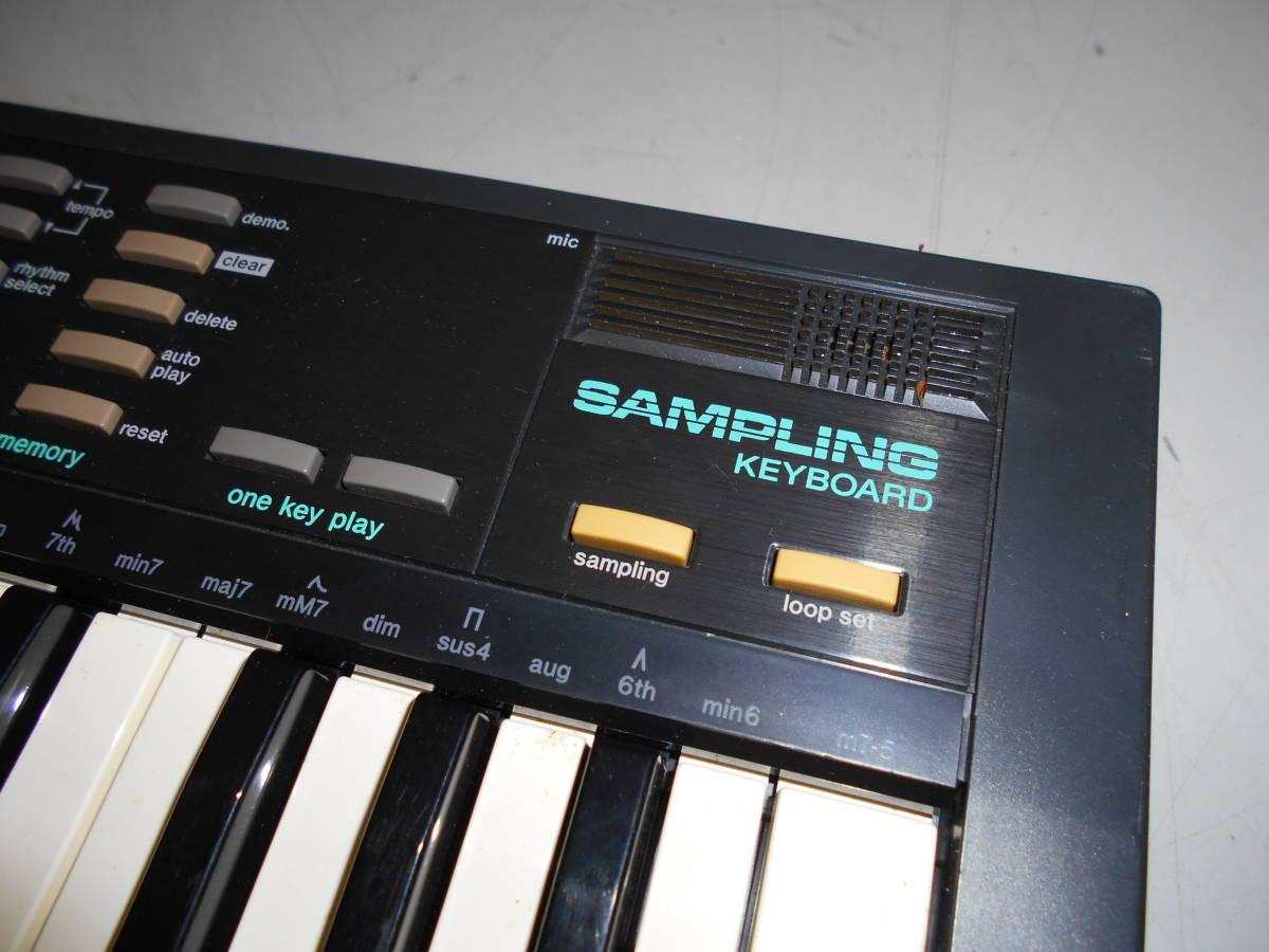 s21 CASIO SK-1 SAMPLING KEYBOARD キーボード_画像5