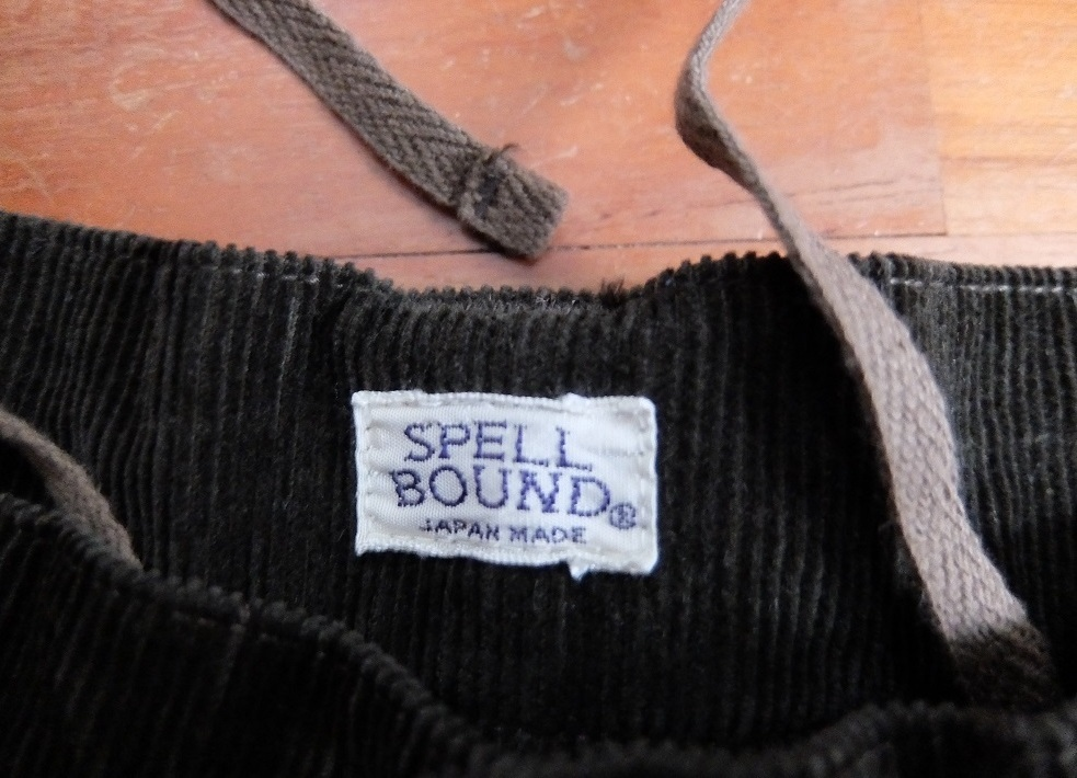 新品 SPELL BOUND コーデュロイ ハーフパンツ 30 スペルバウンド 日本製_画像3
