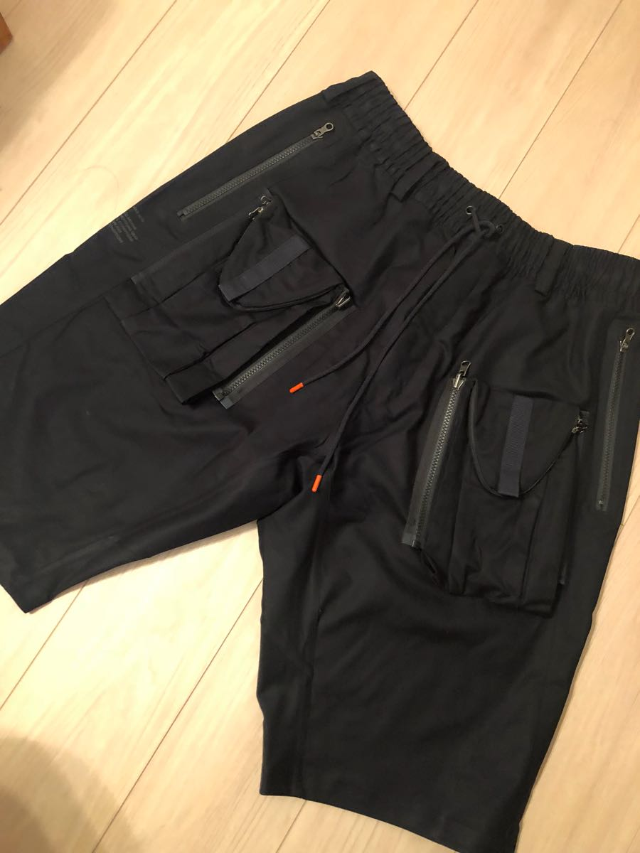 outlet store 0fda2 a81f3 新品 L Nikelab ACG Deploy Men s Cargo Shorts Black 923949-010 黒 ナイキラボ デプロ