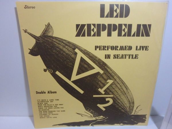 Unofficial【LPレコード】Led Zeppelin V 1/2 Performed Live In Seattle / HH-Seattle 1-4(none)