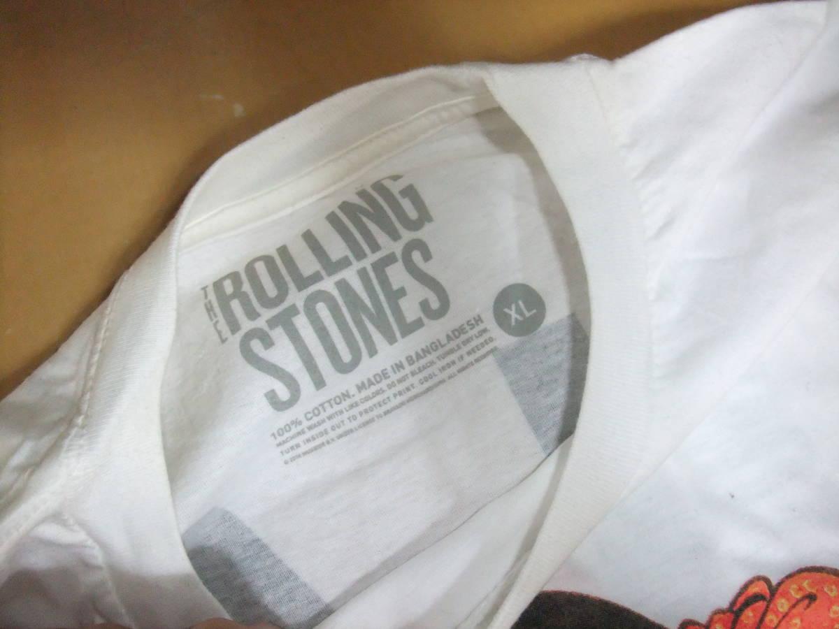 ☆彡ローリングストーンズ ビンテージ Tシャツ The Rolling Stones TOKYO-DOME XL_画像2