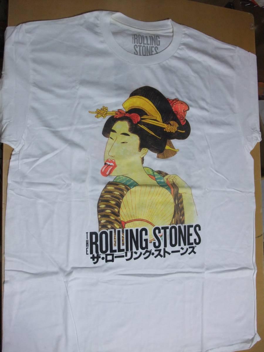 ☆彡ローリングストーンズ ビンテージ Tシャツ The Rolling Stones TOKYO-DOME XL