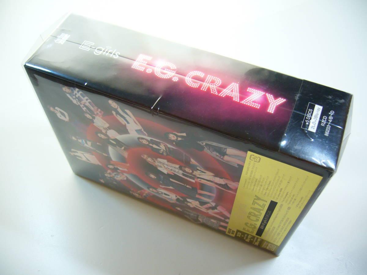 CD+Blu-ray 5枚組 E-girls - E.G. CRAZY スマプラコード付き 初回生産限定盤_画像9