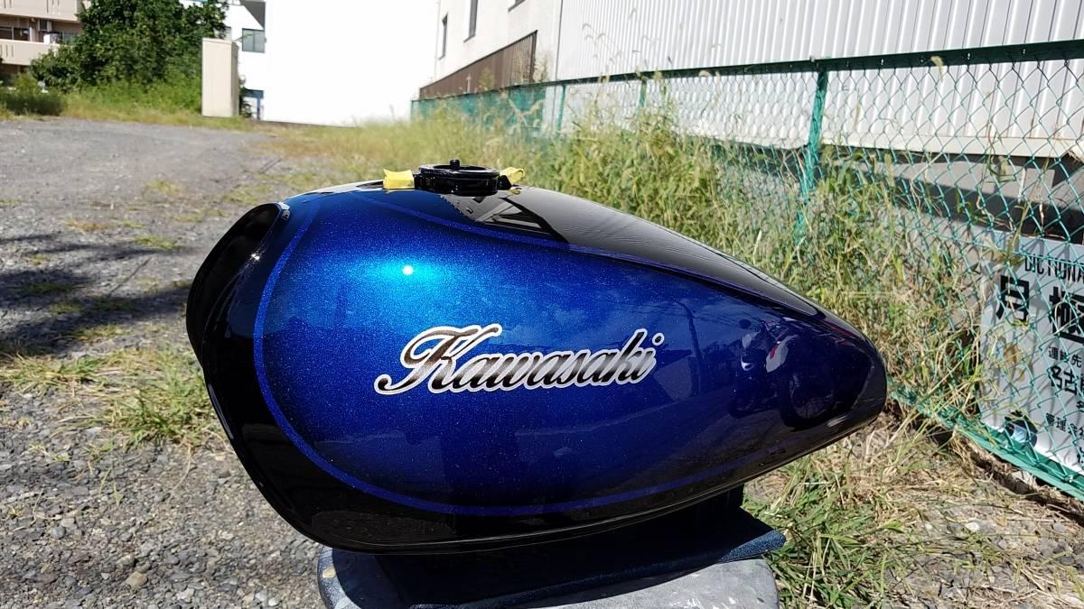 Z1000MK2 750FX1 外装 タンク 塗装依頼 ラップ塗装もOK!_画像10