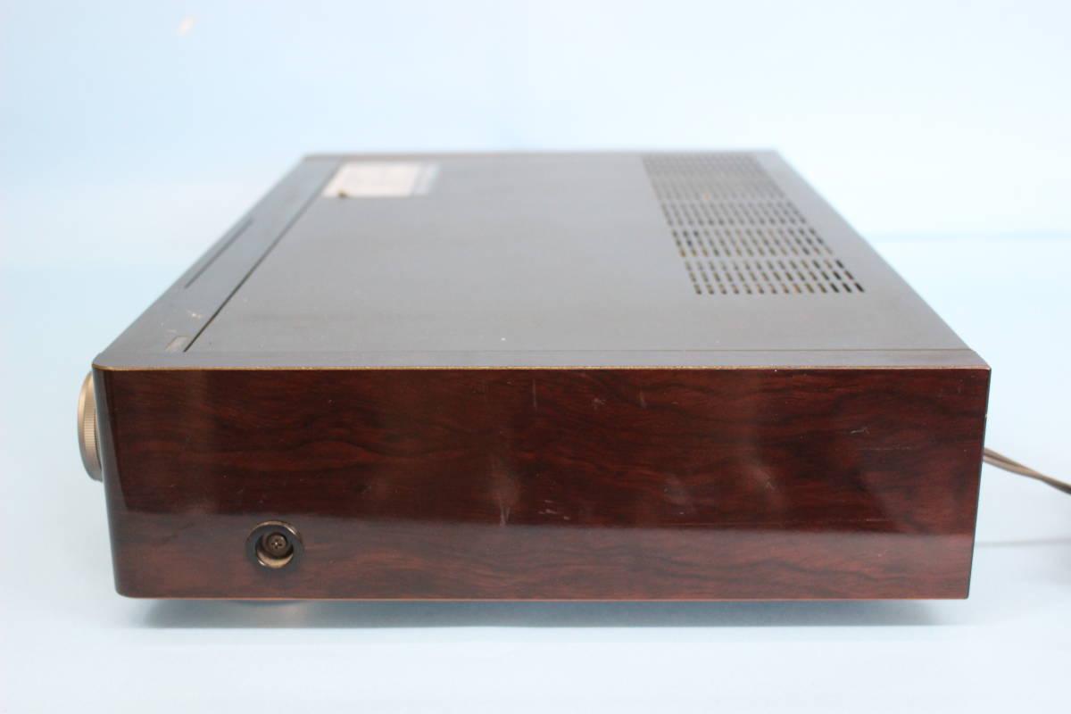 ●SONY ソニー Hi8 ビデオデッキ EV-BS3000 説明書付き (通電不可・ジャンク)_画像3