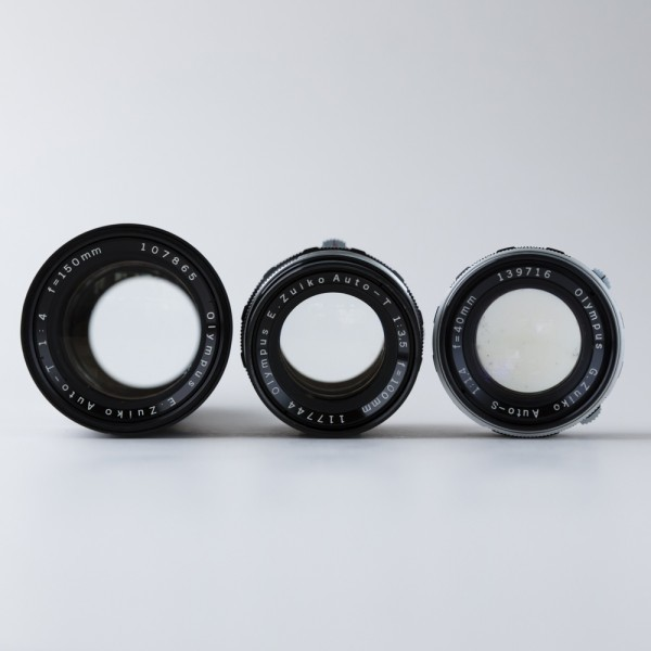 オリンパス OLYMPUS PEN FT 40mm f1.4、100mm f3.5、150mm f4 セット_画像8