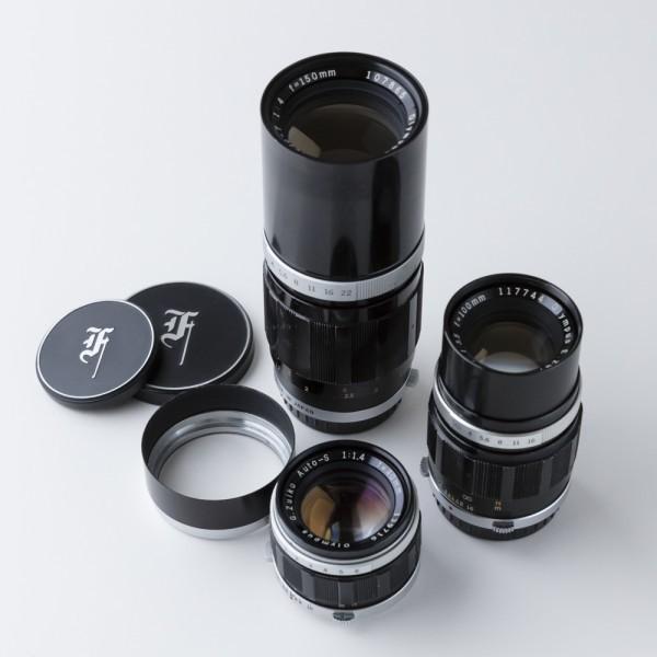 オリンパス OLYMPUS PEN FT 40mm f1.4、100mm f3.5、150mm f4 セット_画像2