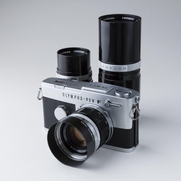 オリンパス OLYMPUS PEN FT 40mm f1.4、100mm f3.5、150mm f4 セット_画像3