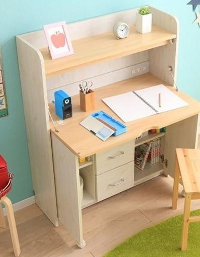 お部屋がスッキリします☆ 学習机 子供部屋 コンパクト 折りたたみ 勉強机 デスク