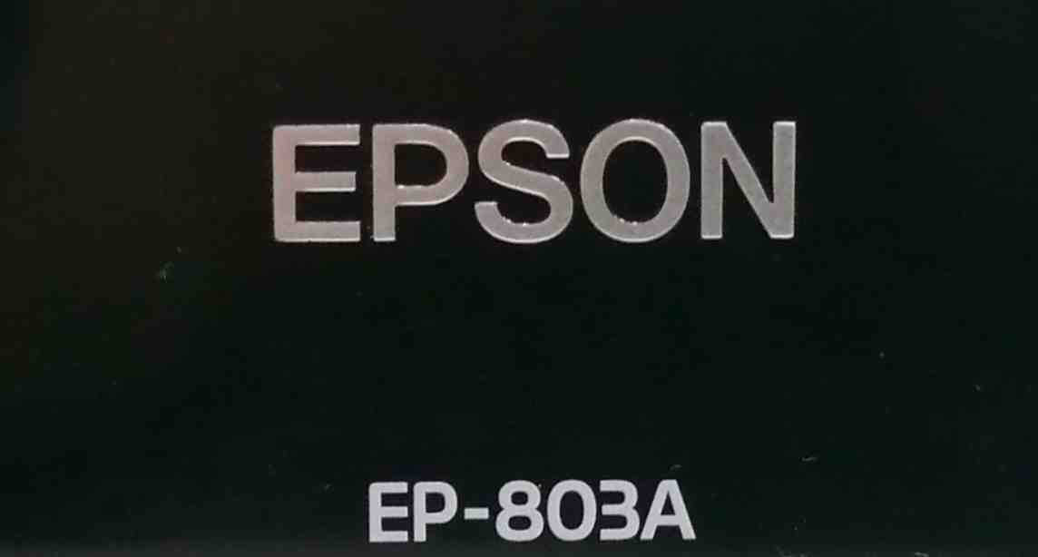 EPSON EP-803A( copy / printing has confirmed ) printing