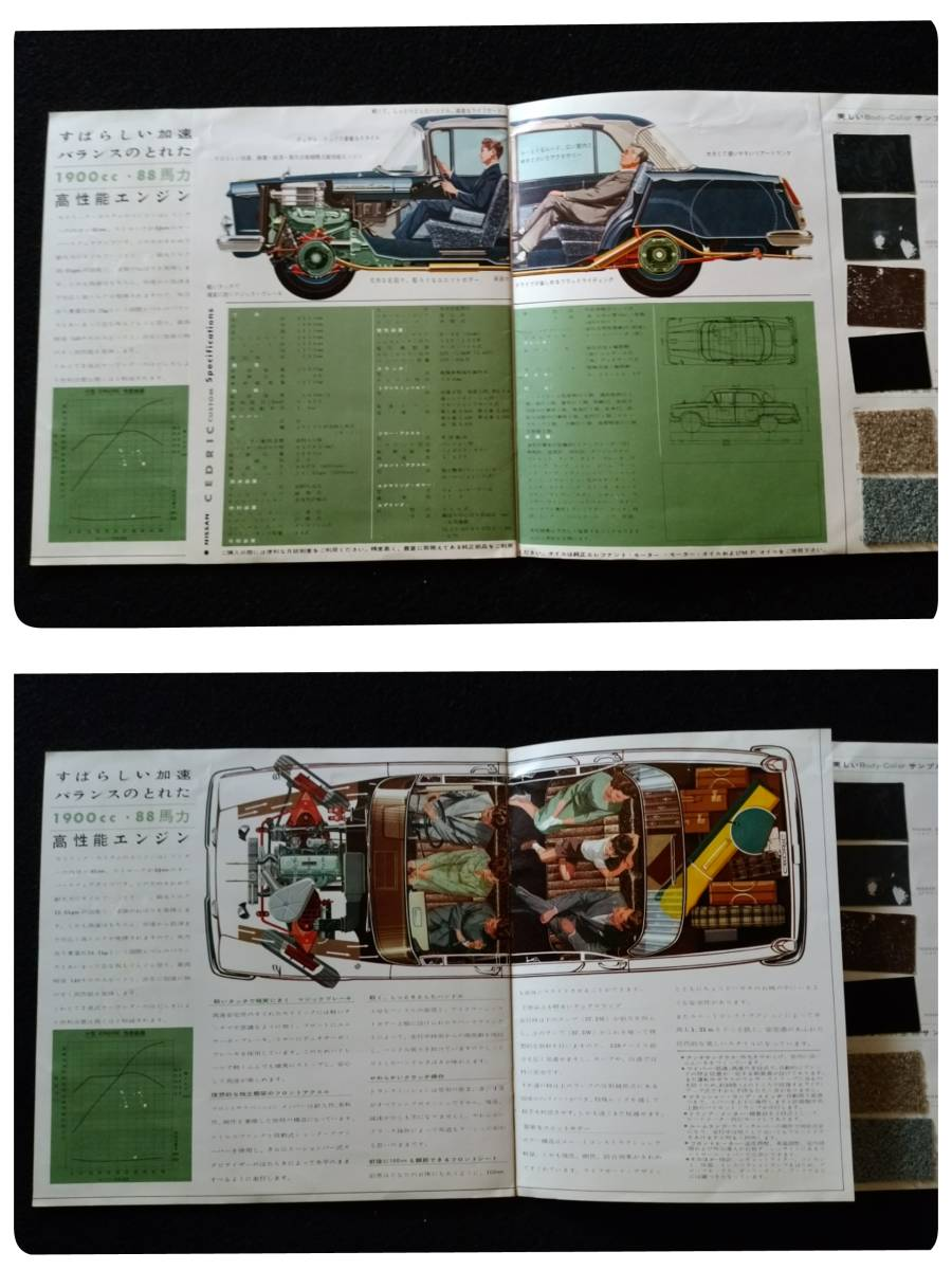 1961年 日産セドリックカスタム専用 旧車カタログ_画像8