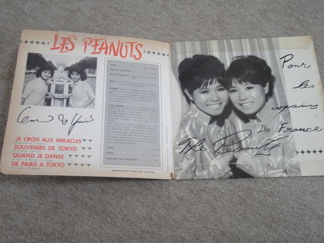 試聴可♪フランス盤オリジナル!Les Peanuts (ザ・ピーナッツ) / Je Crois Aux Miracles / フランス語歌唱!見開きジャケ仕様7'!_画像4