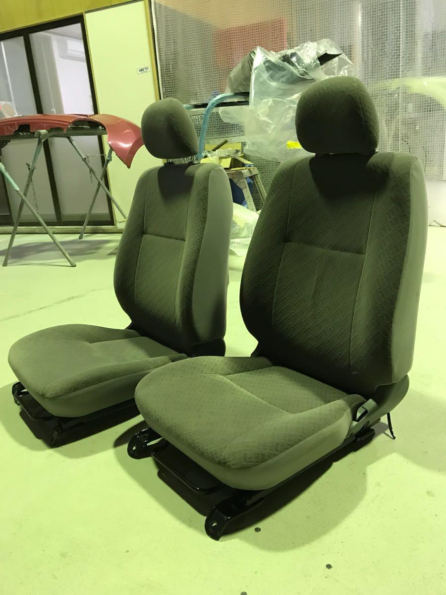 ハイエース 200系 シートS GL スーパーGL 運転席 助手席 2型 クリーリング済み