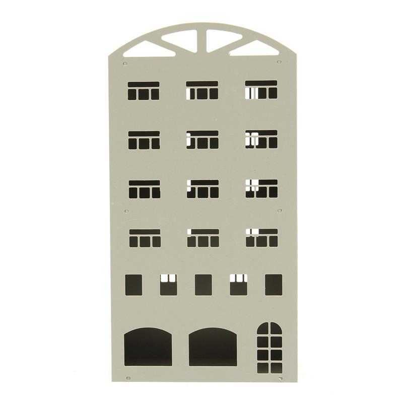 1/150■Nゲージ■ジオラマ ストラクチャー 鉄道模型 建物 オフィスビル マンション 組み立てキット 未完成品■C116_画像3