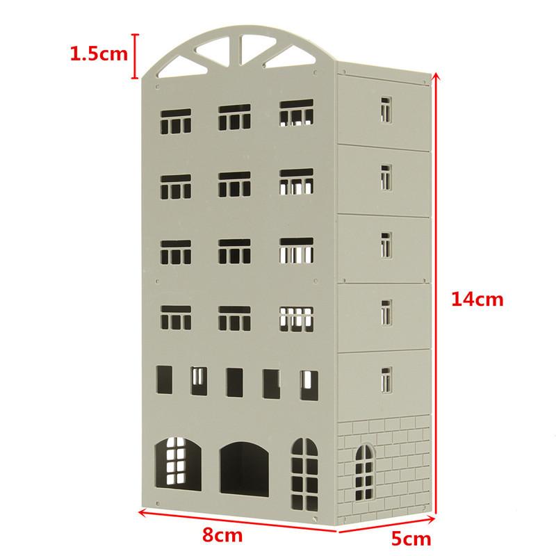 1/150■Nゲージ■ジオラマ ストラクチャー 鉄道模型 建物 オフィスビル マンション 組み立てキット 未完成品■C116_画像2