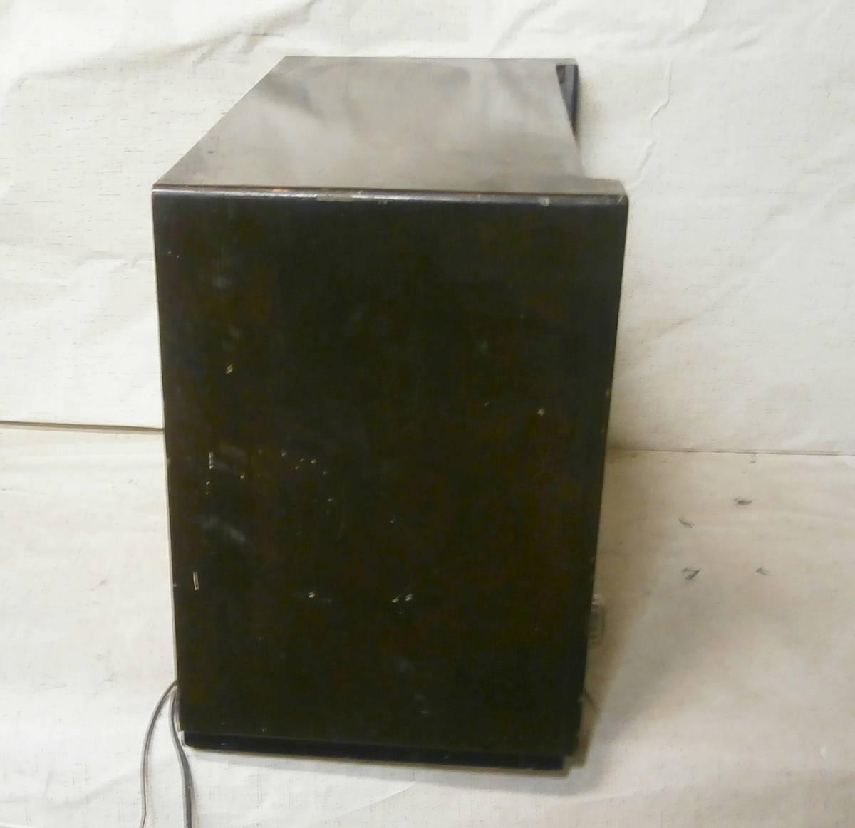 ハーモニー (薄井木工製作所) SW/MW 真空管ラジオ 6球 マジックアイ付 3連バリコン ジャンク_画像5
