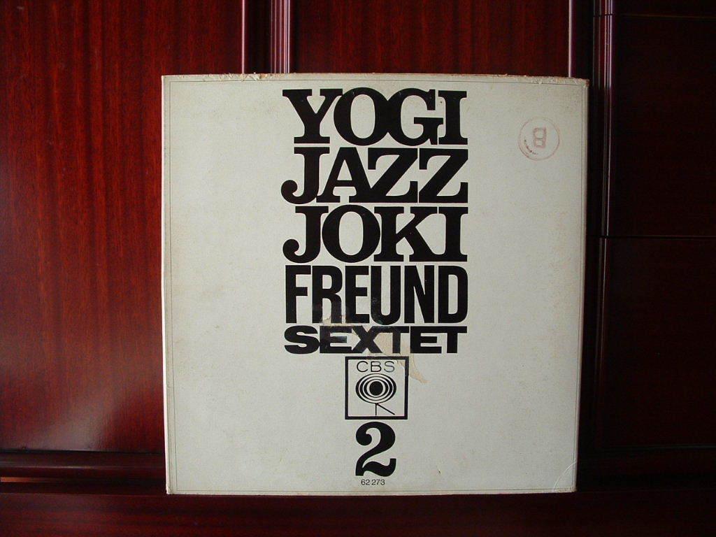 【独オリジナル入手困難】JOKI FREUND / Yogi Jazz ドイツ (オレンジ,CBS)_画像2