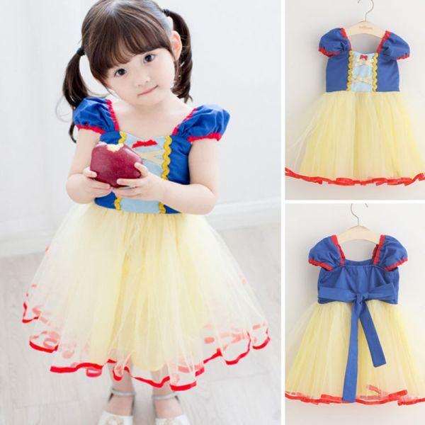 140 送料無料 新品 白雪姫 プリンセス コスプレ ドレス ワンピース ハロウィン 仮装 女の子 女王 姫 コスチューム