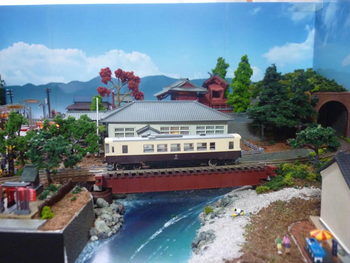 週刊 講談社 鉄道模型 少年時代 Nゲージ ジオラマ クリアケース 完成品 現状渡_画像3