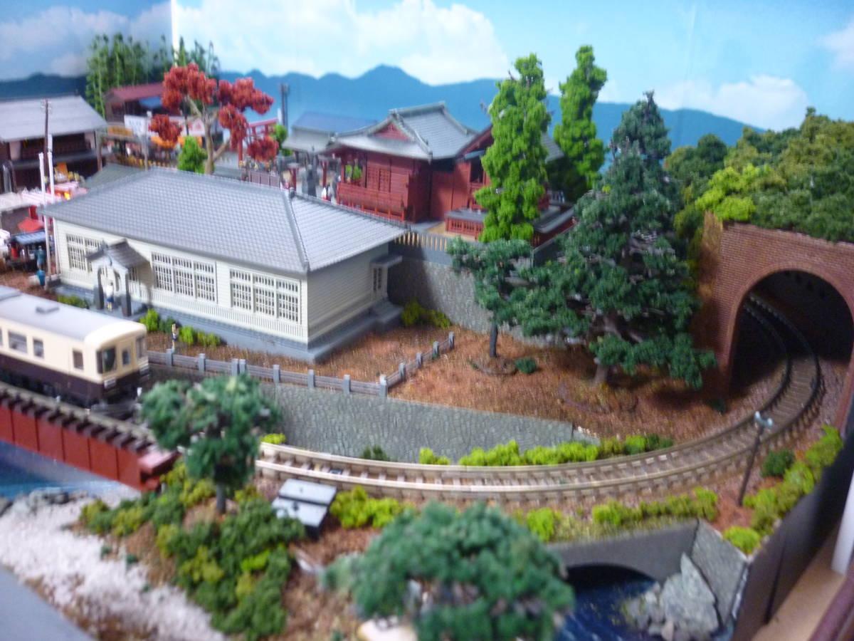 週刊 講談社 鉄道模型 少年時代 Nゲージ ジオラマ クリアケース 完成品 現状渡_画像5