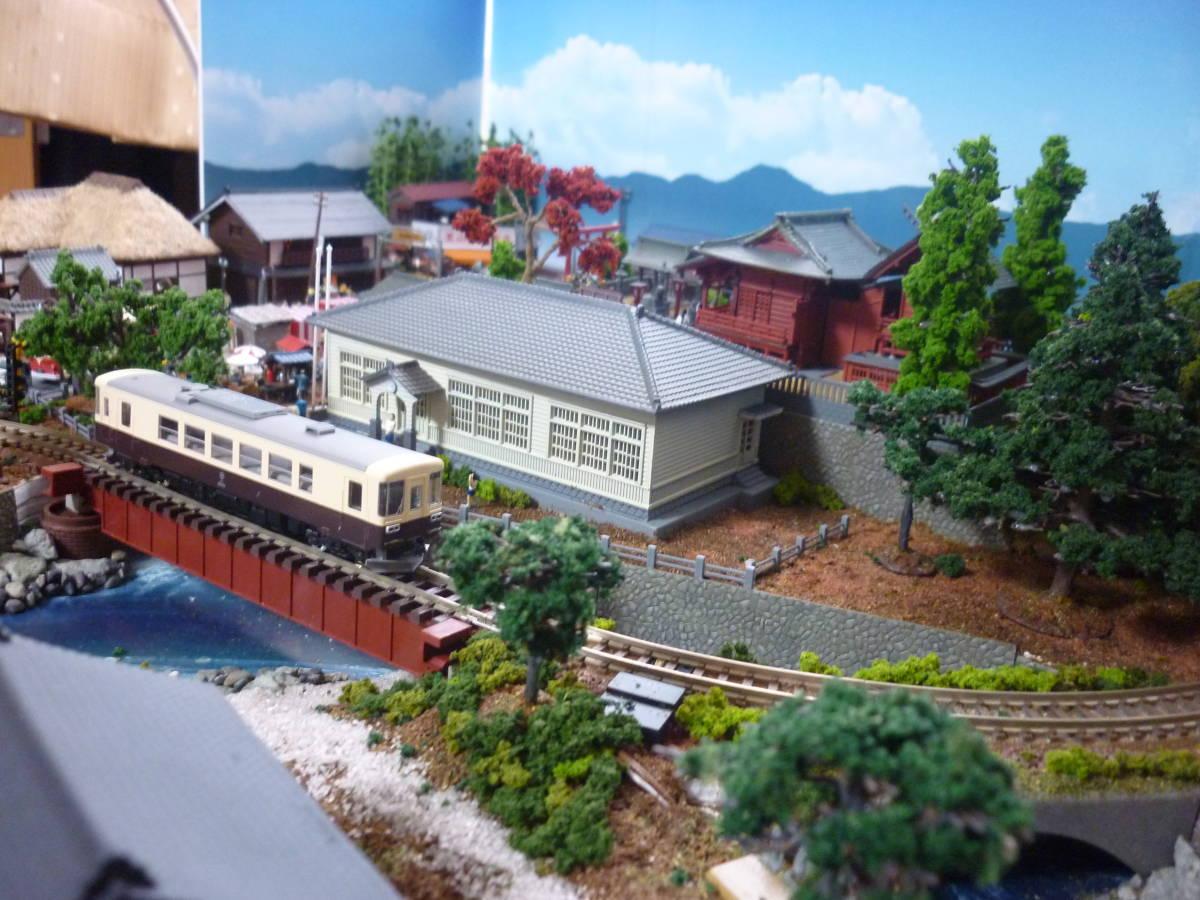 週刊 講談社 鉄道模型 少年時代 Nゲージ ジオラマ クリアケース 完成品 現状渡_画像6