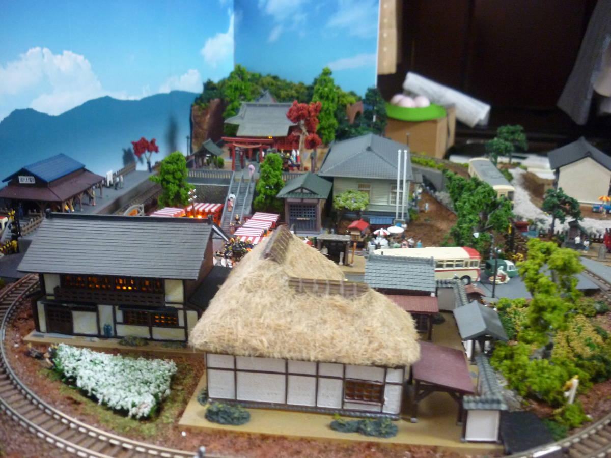 週刊 講談社 鉄道模型 少年時代 Nゲージ ジオラマ クリアケース 完成品 現状渡_画像7