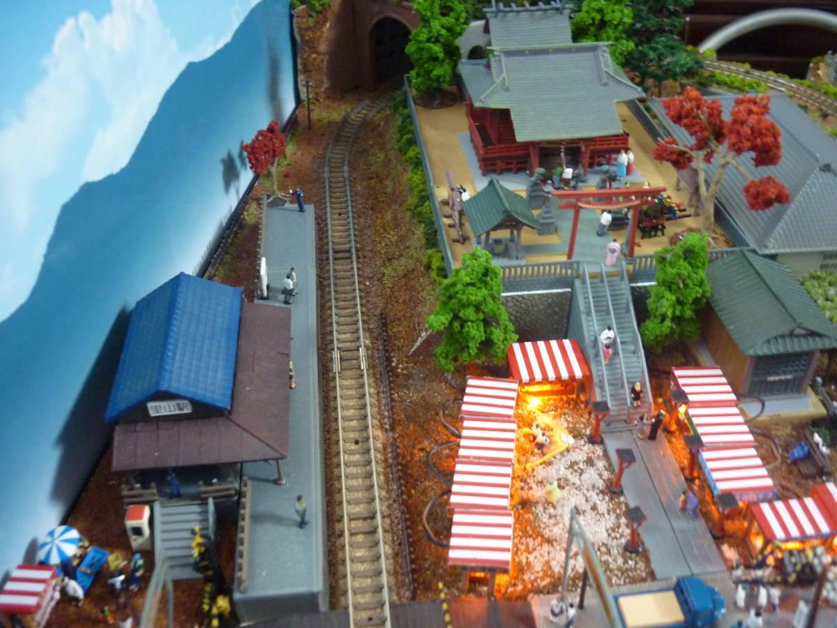 週刊 講談社 鉄道模型 少年時代 Nゲージ ジオラマ クリアケース 完成品 現状渡_画像8